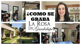 ¿Cómo se graba La Rosa De Guadalupe?