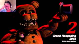 Five Nights at Freddy's 2 Trailer Reaction - FOXY JUMPS?!?! - 5 Nights at Freddy's 2 Greenlight