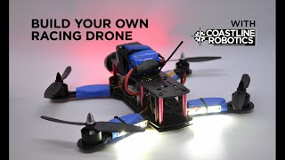 Build your own racing drone Part 1. ZMR250 DIY