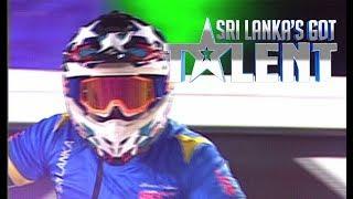 Team 90 degrees - Stunt Act -  Sri Lanka's Got Talent | SLGT