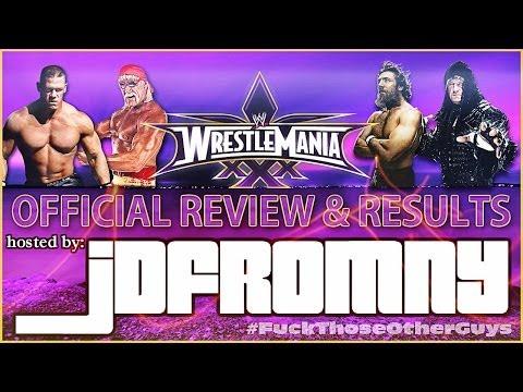 WWE Wrestlemania XXX Review & Results | The Streak Is Over & Daniel Bryan NEW Champion