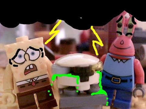 lego spongebob nasty patty