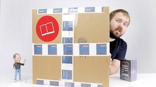 Распаковка книги Apple за 20.000 руб.