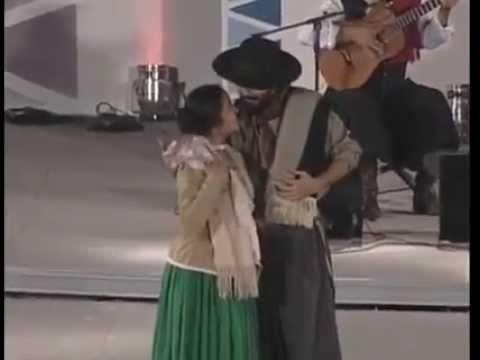 Pareja tradicional Pre cosquin Refalosa pampeana Vasquez Barrera