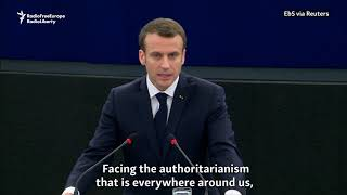 Macron Warns Of