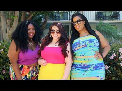 Spring Lookbook x Rebdolls |Plus Size Fashion Collaboration|