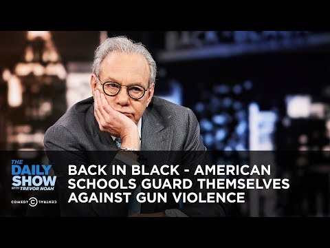 Xxx Mp4 Back In Black American Schools Guard Themselves Against Gun Violence The Daily Show 3gp Sex