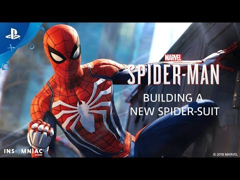 Building a New Spider-Suit - Inside Marvel's Spider-Man | PS4