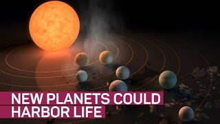 Newly discovered Trappist-1 system has 3 'Goldilocks' planets
