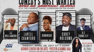 Comedy's Most Wanted Tour in Cincinnati, OH