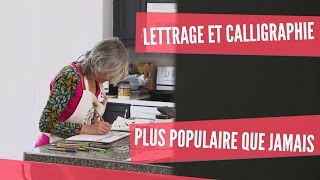 Lettrage et calligraphie à Toronto, plus populaires que jamais