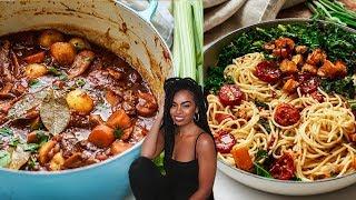 INCREDIBLE Vegan Fall Recipes! {beef-less stew}
