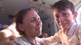 Dramatic rescue as Iraqis flee ISIS fighters