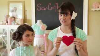 dish towel apron sewing video tutorial with sew crafty kids