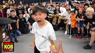 Baby Konkrete vs Baby StreetBeast aka Baby Krow BEST 8 ① YOUNG GUNS BATTLE 6 2018.05.20