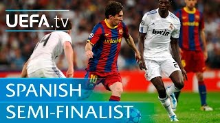 Classic all-Spanish semi-finals featuring Messi, Zidane & Mendieta