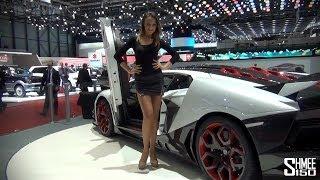 The Girls of the 2014 Geneva Motorshow