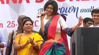 Oviya in chennai OMR saravana stores. Full speech of oviya in OMR. #OMR oviya.