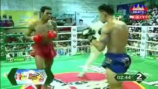 រកឃើញហើយម្ចាស់ខ្សែក្រវាត់ Soth Bunthy vs Phet Thana (Thai) Seatv Khmer boxing 17/11/2018