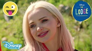 The Lodge | Sneak Peek: Meet Jess A.K.A Dove Cameron! | Official Disney Channel UK