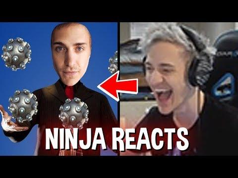 Ninja Reacts To Ninja The Impulse Jongleur Fortnite