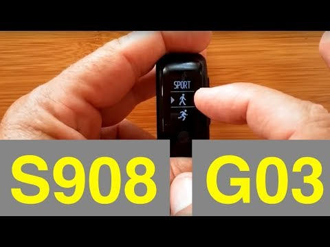 S908 (G03) GPS Sports Smartband: Unboxing and Review