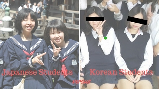 Japanese Students versus Korean Students
