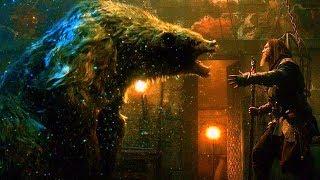 Master Gregory vs WereBear - Fight Scene - Seventh Son (2014) Movie Clip HD