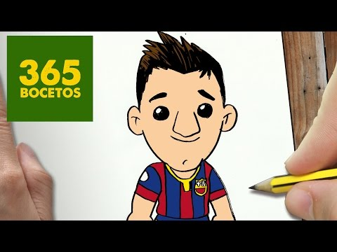 Download Video How to Draw a Cartoon  Lionel Messi  MusicZoneLk