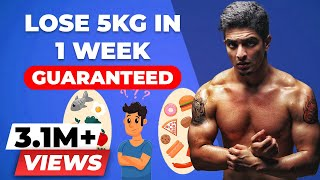 LOSE WEIGHT FAST at home, WITHOUT Exercise | BeerBiceps Weight Loss Diet Advice