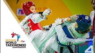 2017 World Taekwondo Championships MUJU_Final match (Women -49kg)