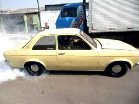 Chevette AP 1.9 turbo Burn Out