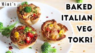 Baked Bread Katori   Bread Pizza Recipe   Evening Snacks   Party Snacks