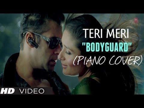 """Teri Meri Prem Kahani"" Piano Cover (Instrumental) Bodyguard - Magical Fingers - Gurbani Bhatia"