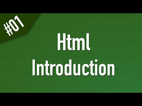 Learn Html In Arabic #01 - Introduction and What is Html?