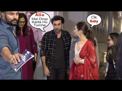 Xxx Mp4 Ranbir Kapoor S Sweet Gesture Towards Girlfriend Alia Bhatt Offering Lift 3gp Sex