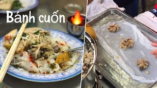 Crazy Yummy Vietnamese Street FoodBanh Cuon Co Tam Restaurant, Saigon Vietnam #FIRE Foodporn 2017