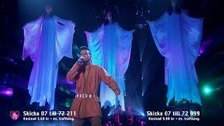 Jon Henrik Fjällgren - Jag Är Fri ( Manne Leam Frijje )(Live Melodifestivalen 2015)