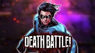 Nightwing Quadruple Flips into DEATH BATTLE