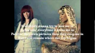 Nicki Minaj (Ft. Rihanna)- Fly lyrics