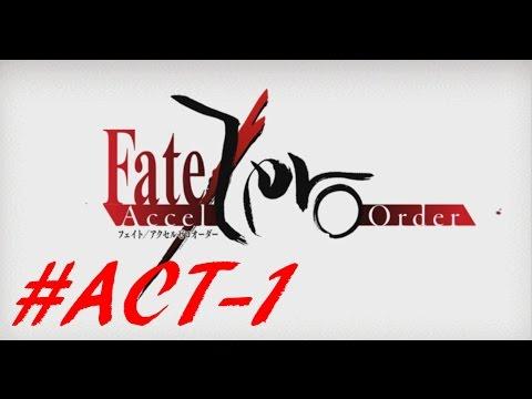 【Fate/Accel Zero Order】 ACT-1 「冬木を知る男」