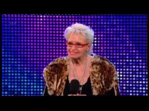 BRITAIN'S GOT TALENT 2013 - KELLY FOX (71 YR OLD ROCKER)