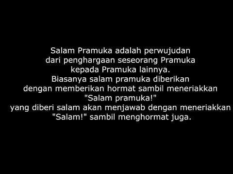 Heboh Video salam Pramuka