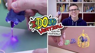 Facciamo CREAZIONI con la PENNA 3D IDo3D vertical