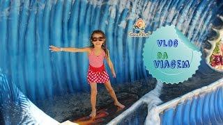 Viajando para o Beach Park Vlog  #1  #BeachParkStudios