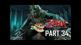 The Legend of Zelda Twilight Princess HD Walkthrough Part 34 - BOSS ZANT (Hero Mode)