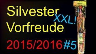 Bunten Raketenbeutel verballern XXL | Das Große FINALE | Silvester Vorfreude 2015/2016 #4
