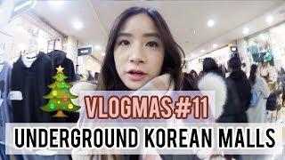 Korea Underground Shopping Mall Shopping | Vlogmas #11