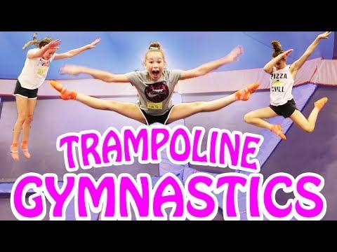Trampoline Gymnastics Haschak Sisters