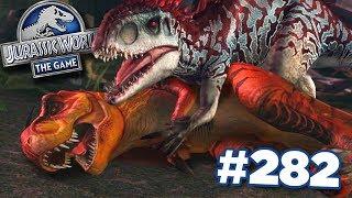 INDOMINUS REVENGE!!!    Jurassic World - The Game - Ep282 HD